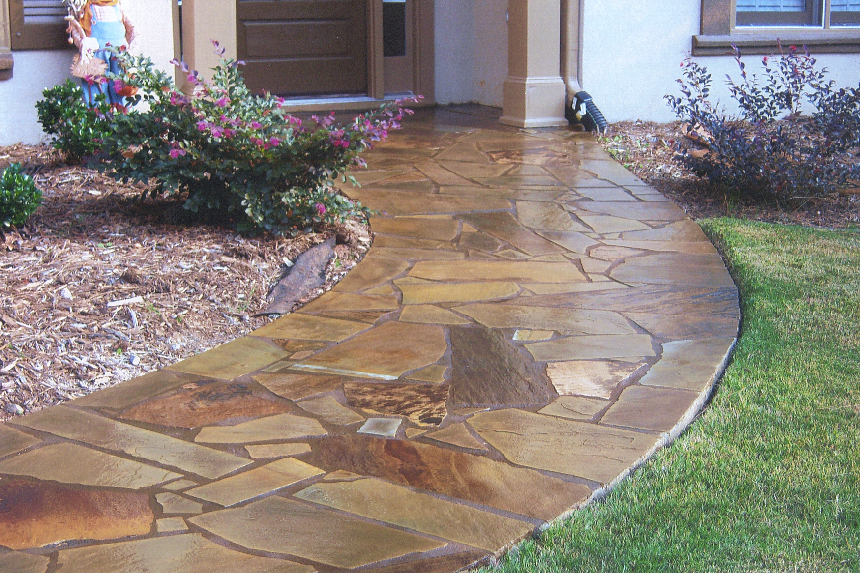 Decorative Concrete Has Become Very Popular Aat